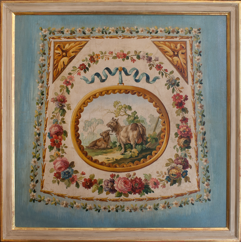 Aubusson tapestry catoon