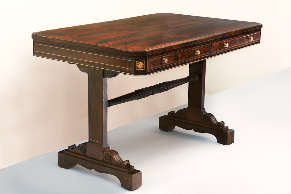 georgian library table