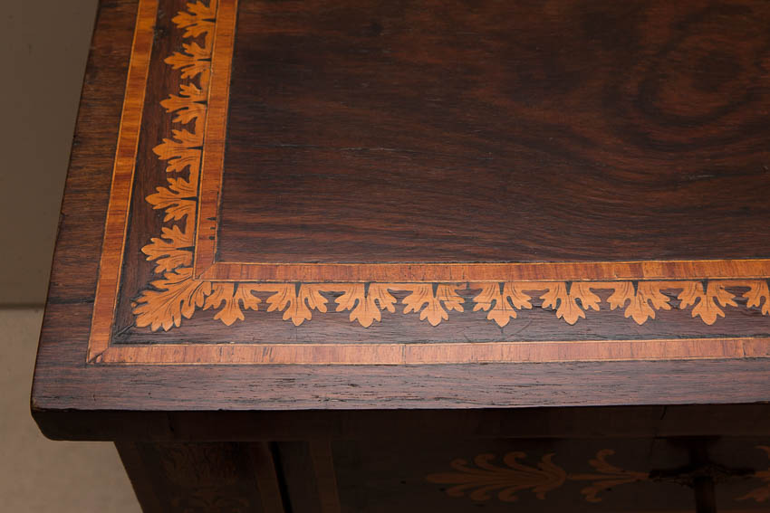 marquetry top