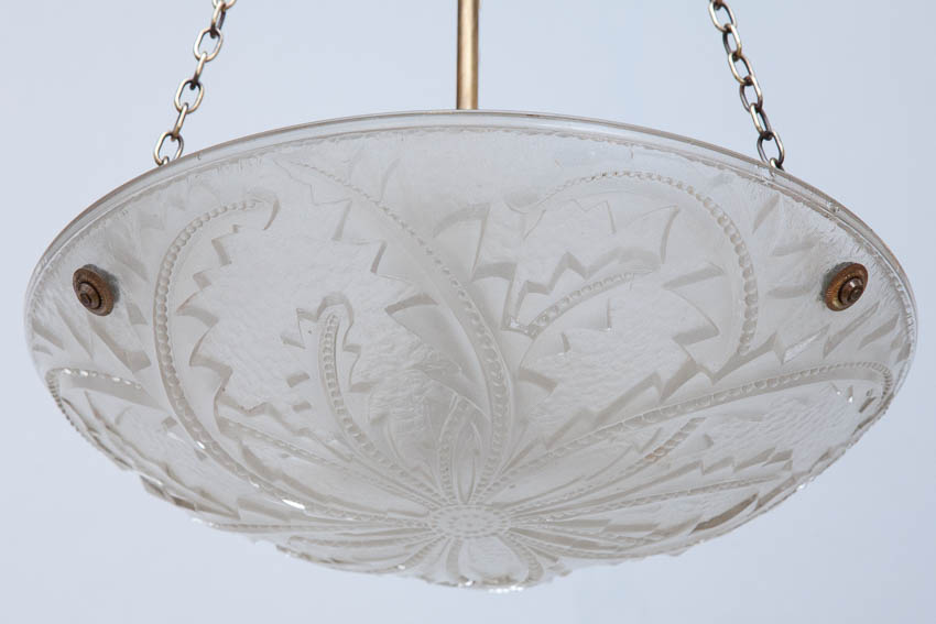 glass shade pressed