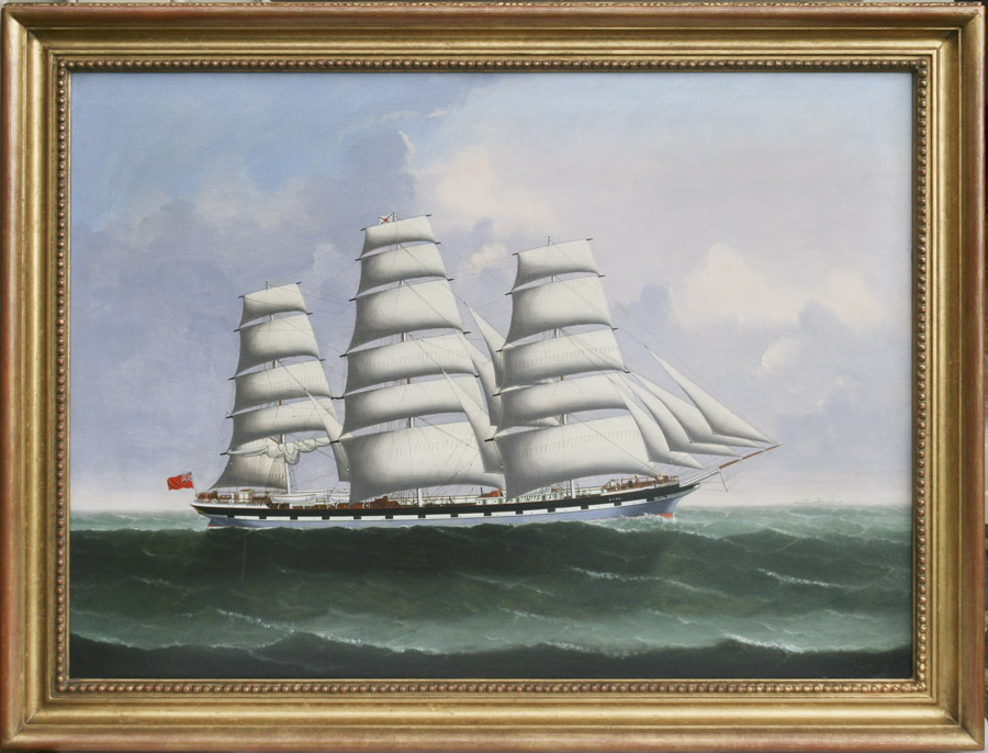 coolie ship painting