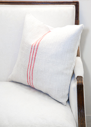 flax cushion