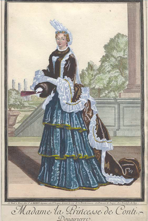 french costume prints