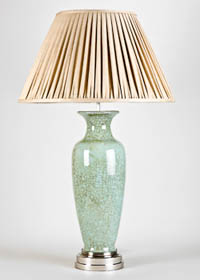 Crackle Glaze table lamp