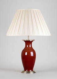 Sang de beuf Table Lamp